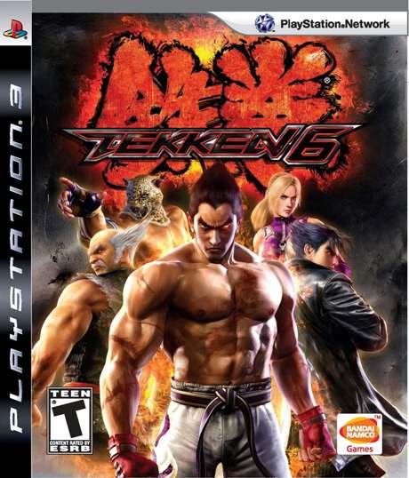 Tekken 6 (PS3)-ROM JB EUR