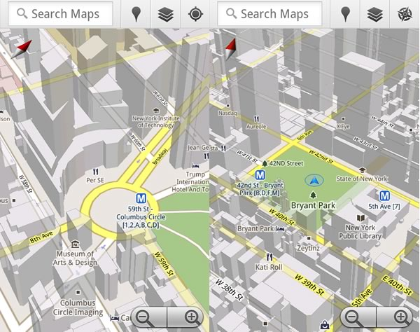 Google Maps 5 0 Offers 3d View And Offline Reliability On Android