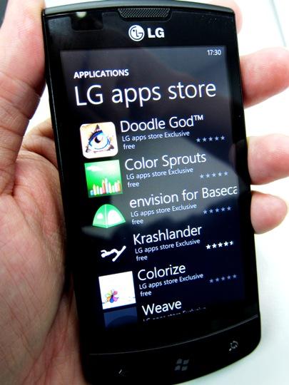 free lg phone applications