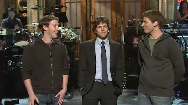 It is interesting to watch the real Mark Zuckerberg meeting the fake Mark