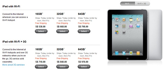 Apple Singapore drops Price for iPad | TechieLobang - News, Tips ...