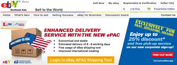New ePAC Service from eBay and SingPost Helps Tracking and Faster ...