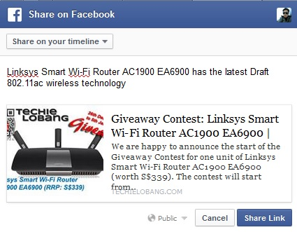 giveaway-linksys-ea6900-facebook-share